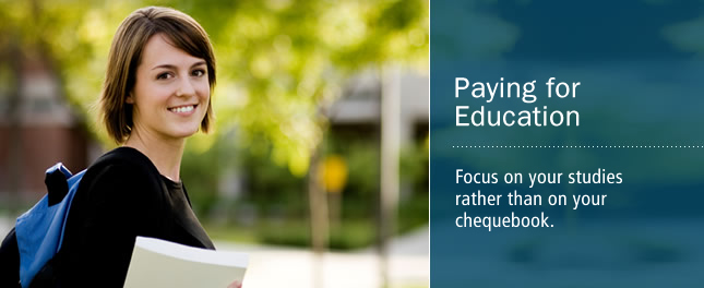 Paying for Education - Solutions to help you focus on your studies rather than on your chequebook