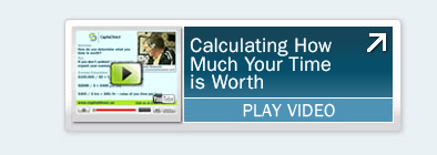 Calculating How Much Your Time is Worth